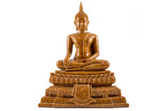 Будда изолировал статую Стоковые Фото