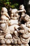 Будда и немногое одни Стоковая Фотография RF