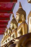 Будда и раздумье Стоковые Фотографии RF