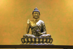 Будда на месте лотоса Стоковое Изображение RF