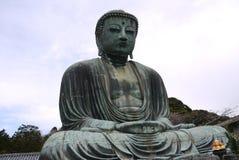 Будда на Японии Стоковая Фотография