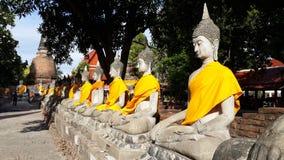 Будда на Ayutthaya Таиланде Стоковые Фотографии RF