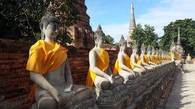 Будда на Ayutthaya Таиланде Стоковое фото RF