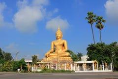 Будда на Wat в Kanlaya Стоковая Фотография