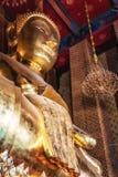 Будда на Wat Kalayanamit, Бангкоке, Таиланде Стоковое фото RF