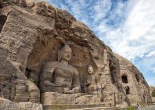 Будда, пещеры yungang Стоковое фото RF