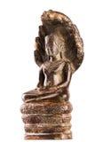Будда под защитой короля NAG Стоковые Изображения RF