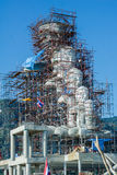 Будда под конструкцией Стоковая Фотография