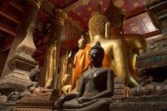 Будда северного Лаоса стоковое изображение