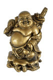 Будда счастливый Стоковые Фотографии RF