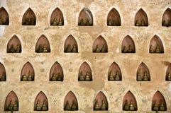 Будда установил стоковое фото
