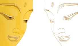 Будда иллюстрация штока