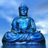 Будда - 3D представляют Стоковое Изображение