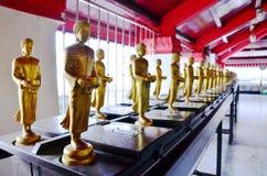 Будда Wat Phra Mahathat Woramahawihan Стоковая Фотография