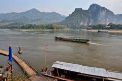 Буддизм Лаоса Вьентьян Luang Prabang Стоковые Изображения RF