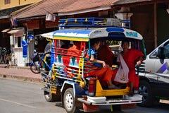 Буддизм Лаоса Вьентьян Luang Prabang Стоковые Изображения
