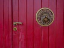 буддийская дверь Стоковые Изображения