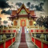 буддийская зала Стоковое Фото