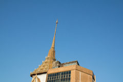 Буддийская пагода Wat Traimit Стоковые Изображения RF