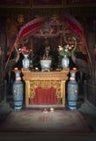Буддийская святыня, вероисповедание, бог поклонению стоковые фотографии rf