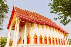 Буддийская тайская церковь Стоковое Изображение RF