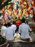 Буддийская традиция северно монах стоковая фотография rf