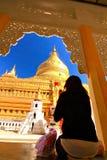 буддийская bagan Мьянма Стоковая Фотография RF