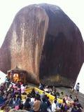 Буддийские верующие Стоковые Фотографии RF