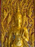 Буддийские виски Uthaithani Таиланд Стоковая Фотография