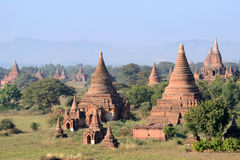 Буддийские пагоды Стоковое Фото
