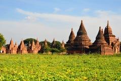 Буддийские пагоды Стоковая Фотография RF