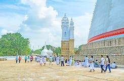 Буддийские традиции Стоковая Фотография RF