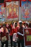 Буддийский вероисповедный ритуал Стоковая Фотография
