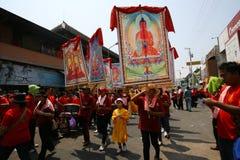 Буддийский вероисповедный ритуал Стоковые Фотографии RF