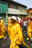 Буддийский вероисповедный ритуал Стоковая Фотография RF
