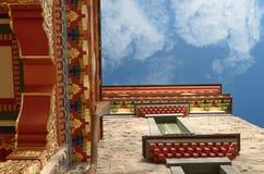 Буддийский висок в Санкт-Петербурге Стоковые Изображения