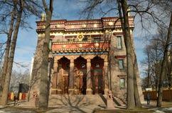 Буддийский висок в Санкт-Петербурге Стоковое фото RF