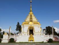 Буддийский висок в Чиангмае Стоковые Изображения