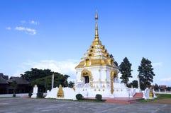 Буддийский висок в Чиангмае Стоковая Фотография