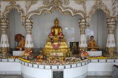 Буддийский висок в Howrah, Индии стоковое фото rf