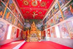 Буддийский висок в koh Samui острова, Таиланде Стоковые Изображения RF