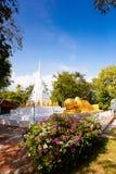 Буддийский висок в koh Samui, Таиланде Стоковые Фотографии RF
