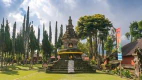 Буддийский висок на Бали стоковая фотография