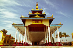 Буддийский висок на озере Inle, Мьянме Стоковое Изображение