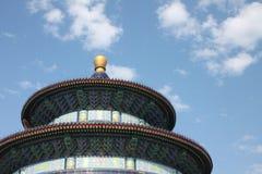 Буддийский висок Пекин Стоковые Фото