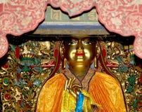 буддийский висок Статуя Будды --Yonghe Temple, Пекин, Китай стоковые фото