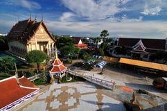 буддийский висок тайский Стоковые Фото