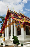 буддийский висок Стоковая Фотография RF