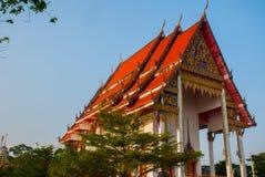 буддийский висок Hatyai Таиланд Стоковые Изображения RF