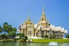 Буддийский висок Khorat стоковое фото